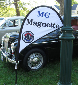 Magnette at Car Show